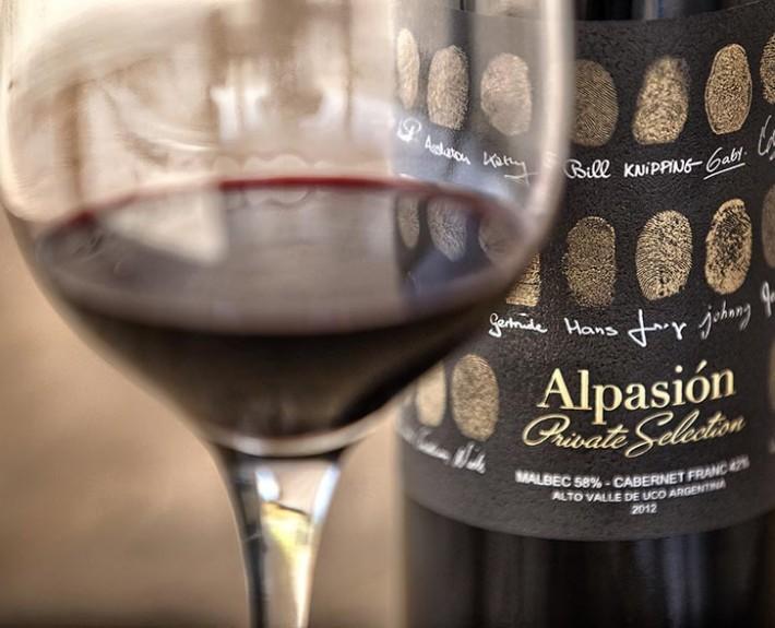 Alpasion Malbec wine