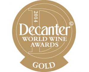 Decanter gold award