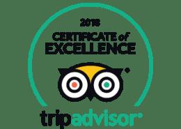 Trip Advisor winner 2018