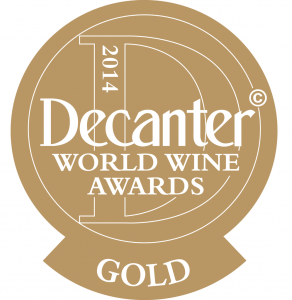 Decanter gold award