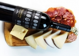 Alpasion wine and cheese